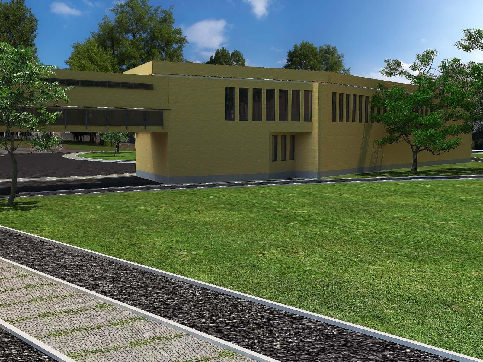 ساختمان اداری و سردخانه آشپزخانه مرکزی