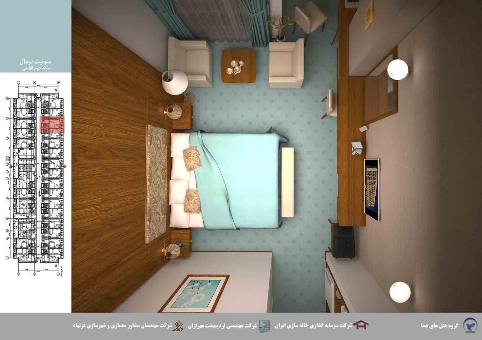 بازسازی هتل هما مشهد