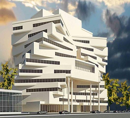 ساختمان تجاری تبریز